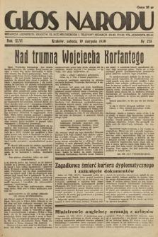 Głos Narodu. 1939, nr228