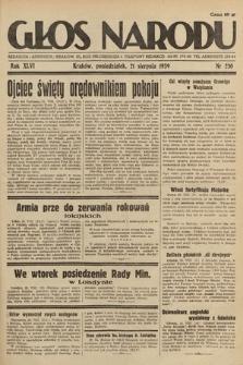 Głos Narodu. 1939, nr230