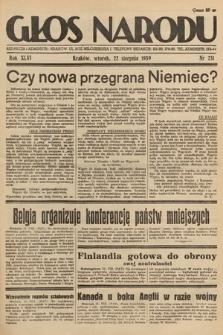 Głos Narodu. 1939, nr231