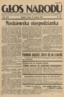 Głos Narodu. 1939, nr232