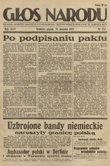 Głos Narodu. 1939, nr234