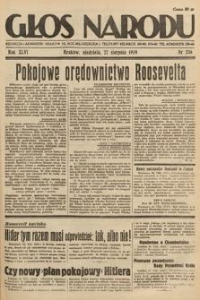 Głos Narodu. 1939, nr236