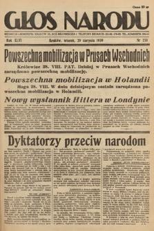 Głos Narodu. 1939, nr238