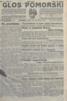 Głos Pomorski. 1926, nr1