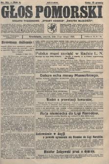 Głos Pomorski. 1926, nr33