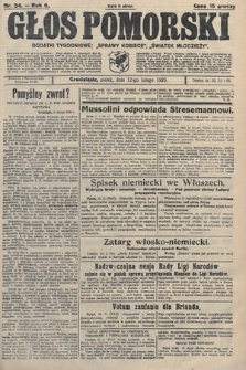 Głos Pomorski. 1926, nr34