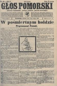 Głos Pomorski. 1926, nr36