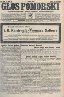 Głos Pomorski. 1926, nr38
