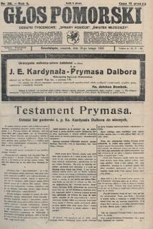 Głos Pomorski. 1926, nr39