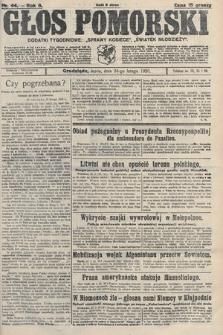Głos Pomorski. 1926, nr44
