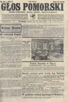 Głos Pomorski. 1926, nr54