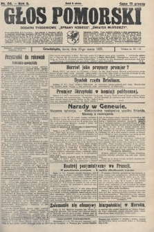 Głos Pomorski. 1926, nr56