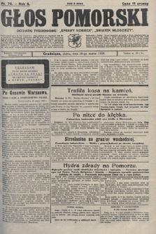 Głos Pomorski. 1926, nr70