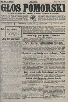 Głos Pomorski. 1926, nr75