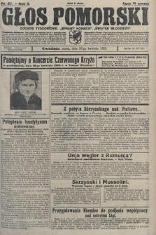 Głos Pomorski. 1926, nr87