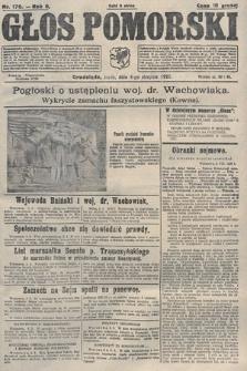 Głos Pomorski. 1926, nr176