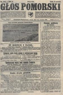 Głos Pomorski. 1926, nr205
