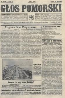 Głos Pomorski. 1926, nr236