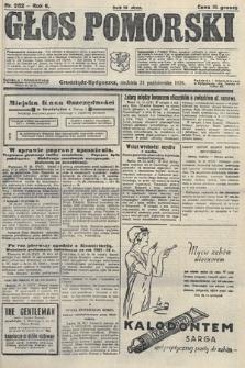 Głos Pomorski. 1926, nr252