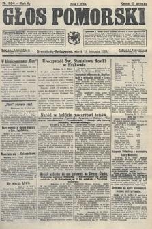 Głos Pomorski. 1926, nr264