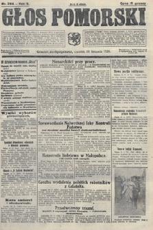 Głos Pomorski. 1926, nr266