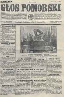 Głos Pomorski. 1926, nr274