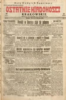 Ostatnie Wiadomości Krakowskie : gazeta codzienna dla wszystkich. 1932, nr19