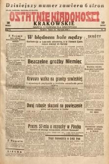 Ostatnie Wiadomości Krakowskie : gazeta codzienna dla wszystkich. 1932, nr23