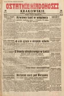Ostatnie Wiadomości Krakowskie : gazeta codzienna dla wszystkich. 1932, nr27