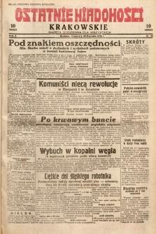 Ostatnie Wiadomości Krakowskie : gazeta codzienna dla wszystkich. 1932, nr28