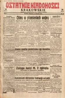 Ostatnie Wiadomości Krakowskie : gazeta codzienna dla wszystkich. 1932, nr31