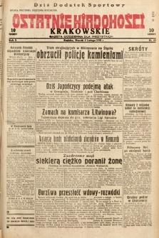 Ostatnie Wiadomości Krakowskie : gazeta codzienna dla wszystkich. 1932, nr40