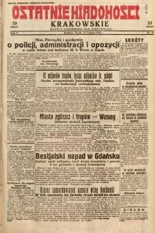 Ostatnie Wiadomości Krakowskie : gazeta codzienna dla wszystkich. 1932, nr41