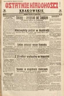 Ostatnie Wiadomości Krakowskie : gazeta codzienna dla wszystkich. 1932, nr42