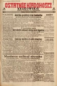 Ostatnie Wiadomości Krakowskie : gazeta codzienna dla wszystkich. 1932, nr45
