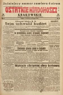 Ostatnie Wiadomości Krakowskie : gazeta codzienna dla wszystkich. 1932, nr46