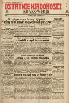 Ostatnie Wiadomości Krakowskie : gazeta codzienna dla wszystkich. 1932, nr50