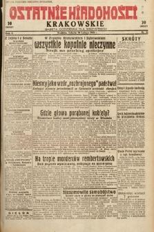 Ostatnie Wiadomości Krakowskie : gazeta codzienna dla wszystkich. 1932, nr51