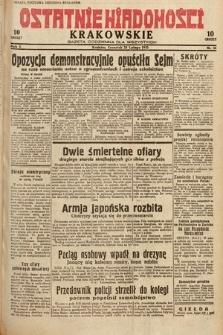 Ostatnie Wiadomości Krakowskie : gazeta codzienna dla wszystkich. 1932, nr56