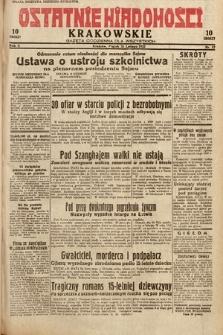 Ostatnie Wiadomości Krakowskie : gazeta codzienna dla wszystkich. 1932, nr57