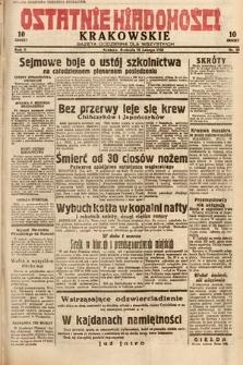 Ostatnie Wiadomości Krakowskie : gazeta codzienna dla wszystkich. 1932, nr59