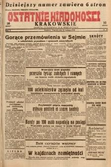 Ostatnie Wiadomości Krakowskie : gazeta codzienna dla wszystkich. 1932, nr60