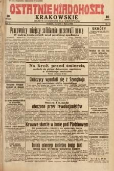 Ostatnie Wiadomości Krakowskie : gazeta codzienna dla wszystkich. 1932, nr63