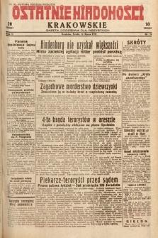 Ostatnie Wiadomości Krakowskie : gazeta codzienna dla wszystkich. 1932, nr76