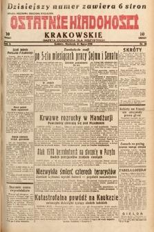 Ostatnie Wiadomości Krakowskie : gazeta codzienna dla wszystkich. 1932, nr80