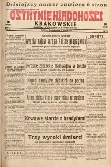 Ostatnie Wiadomości Krakowskie : gazeta codzienna dla wszystkich. 1932, nr81