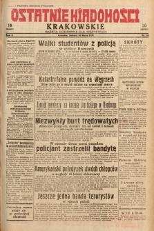 Ostatnie Wiadomości Krakowskie : gazeta codzienna dla wszystkich. 1932, nr86