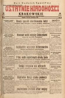 Ostatnie Wiadomości Krakowskie : gazeta codzienna dla wszystkich. 1932, nr94