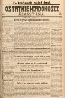 Ostatnie Wiadomości Krakowskie : gazeta codzienna dla wszystkich. 1932, nr95