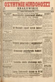 Ostatnie Wiadomości Krakowskie : gazeta codzienna dla wszystkich. 1932, nr97